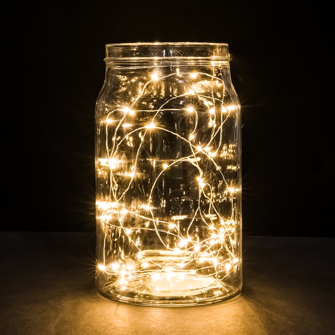 Clear Battery Operated Christmas Lights