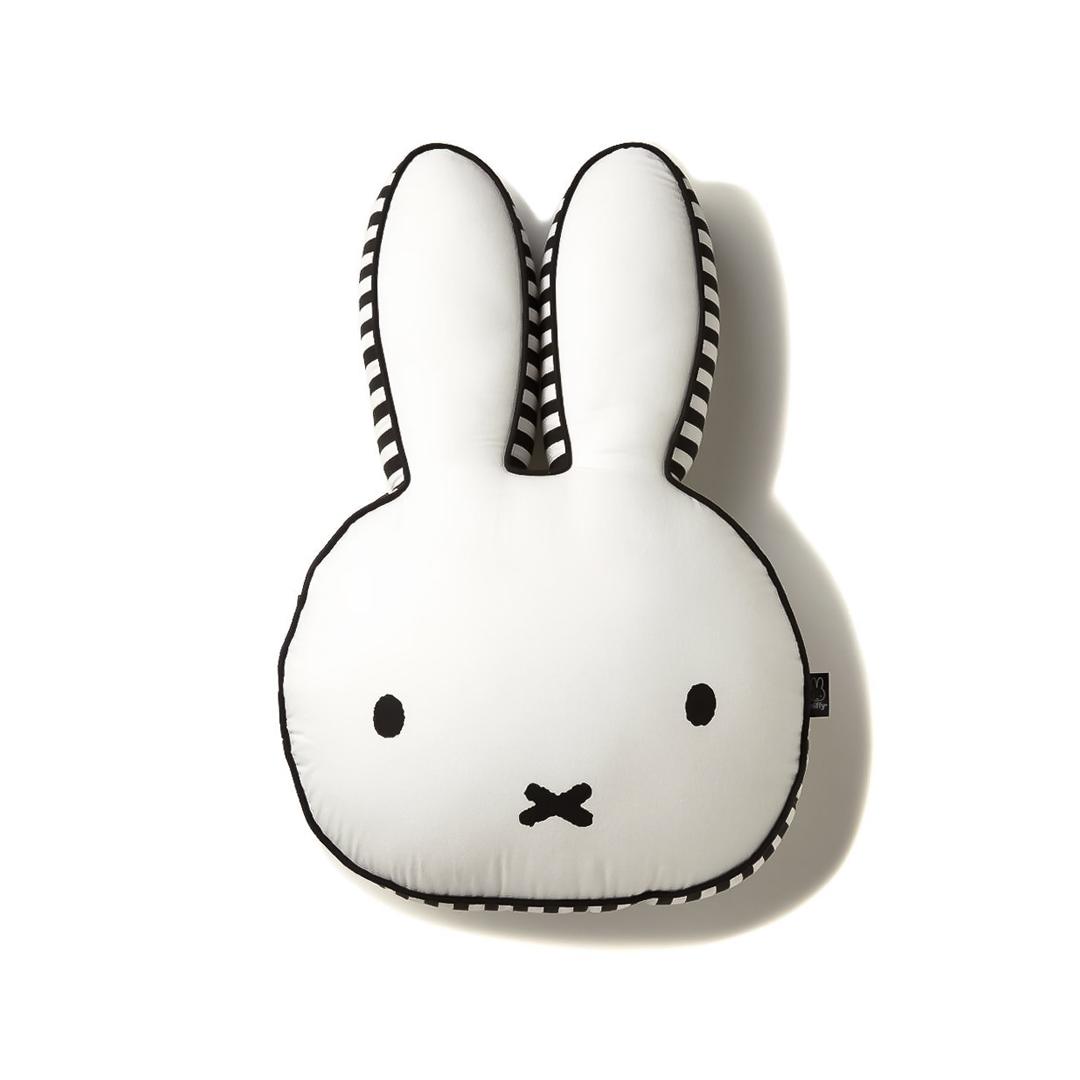 Miffy Bunny Plush Cushion Kiyolo