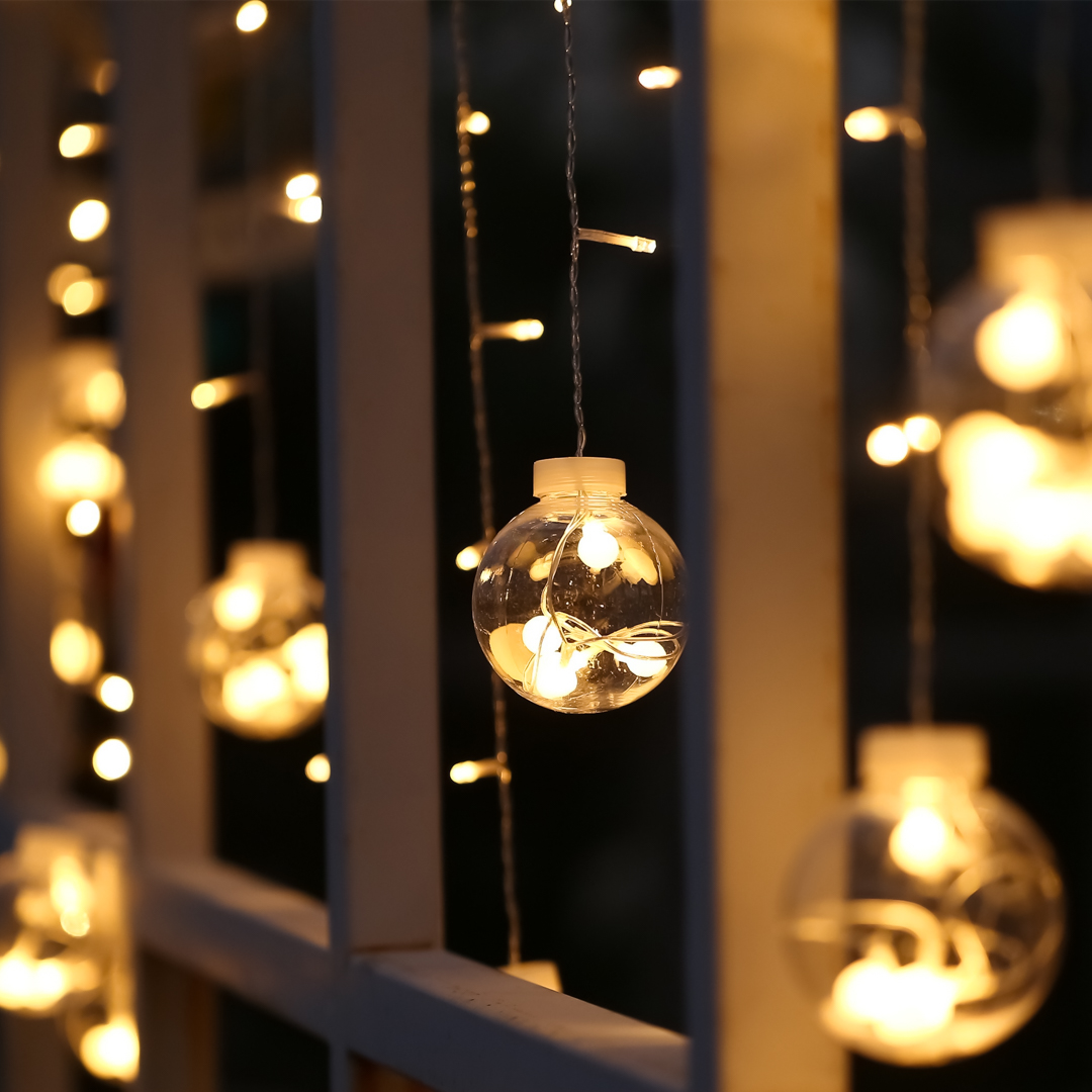 Hopes & Dreams Clear Globe String Light