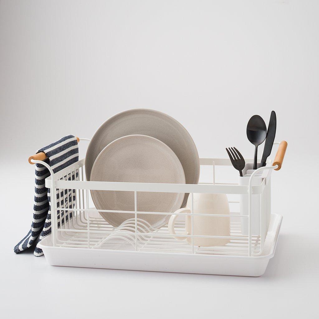 Ryori Dish Rack with Wooden Handle – KIYOLO